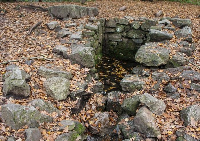 La fontaine de Merlin