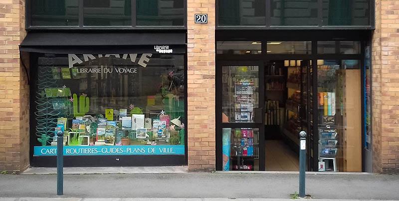 ariane librairie du voyage rennes