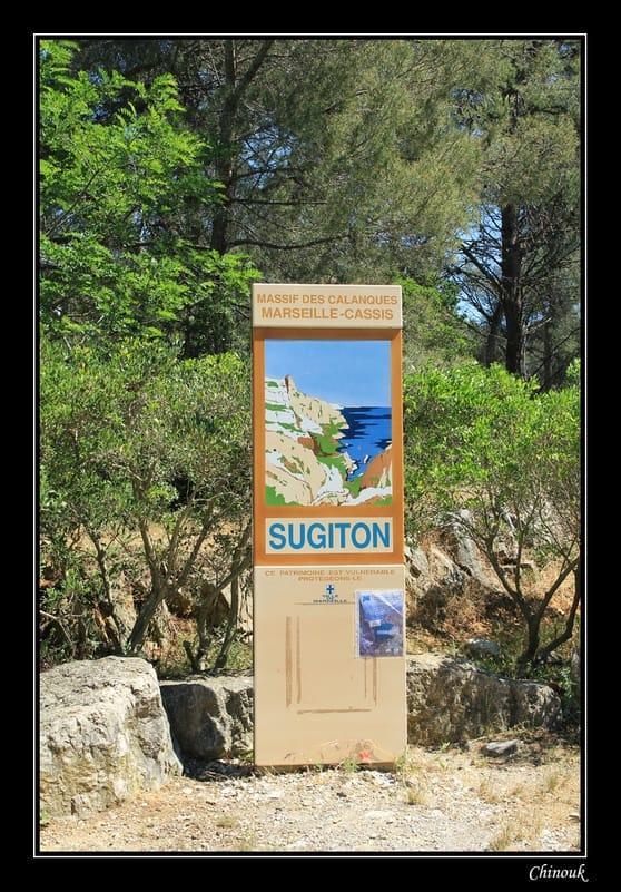Randonnée dans les calanques  de Morgiou à Sugiton.