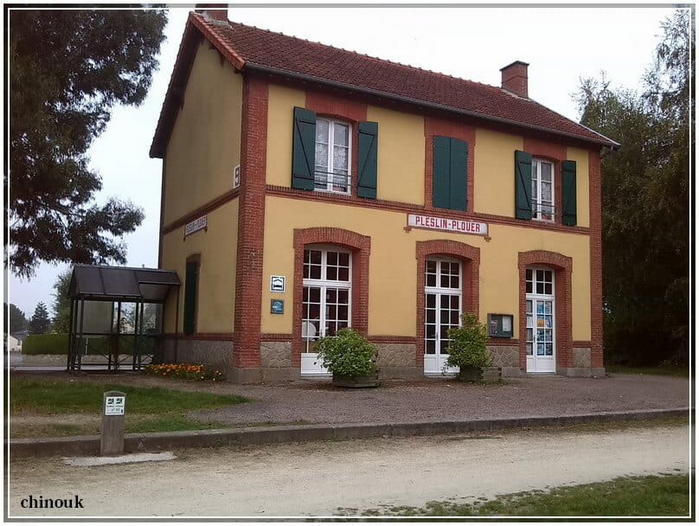 ancienne gare de Plestin - Plouer
