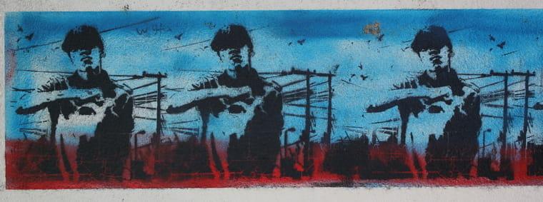 street art trentemoult Nantes