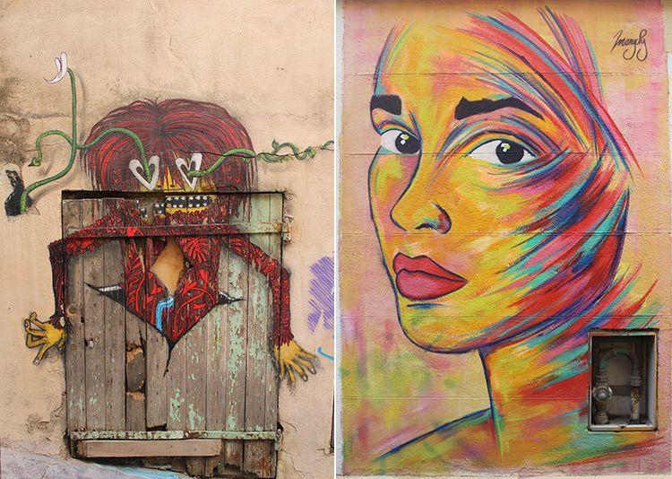 Street-art quartier du panier