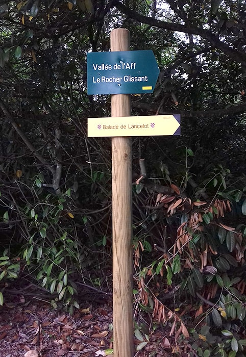 Jardin des Affolettes et la balade de Lancelot à Beignon, Brocéliande