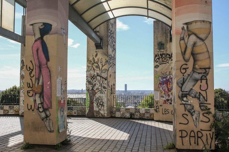belvedere belleville street-art