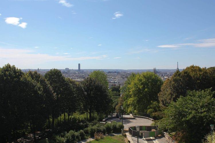 belvedere belleville vue paris