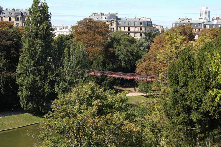 pont parc chaumont