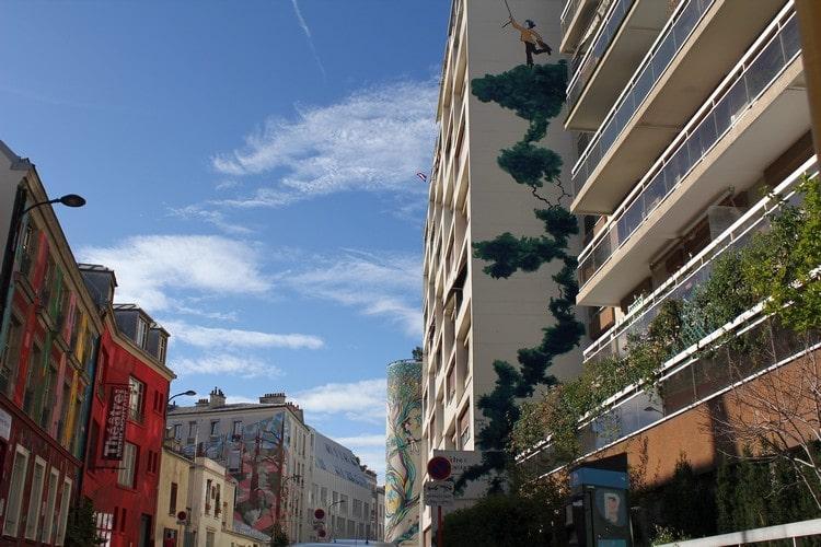 facades rue du retrait