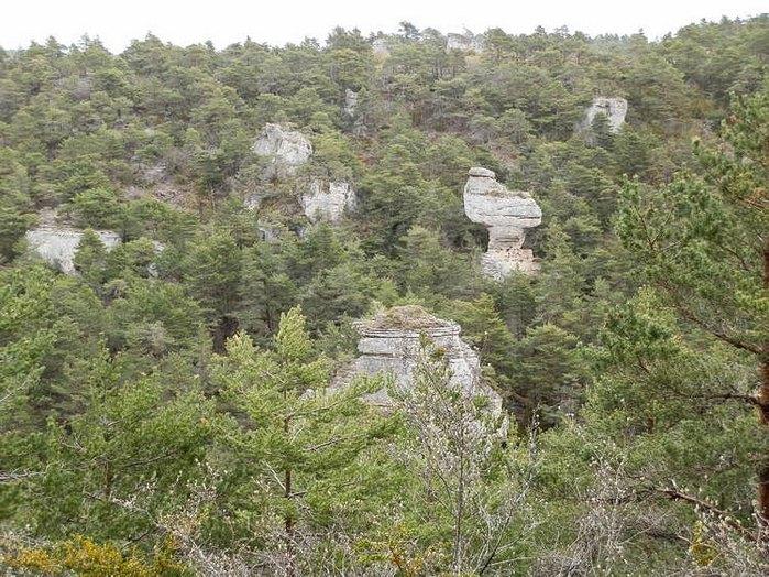 rochers ruiniformes