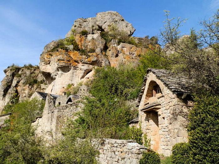 ruines village Capluc